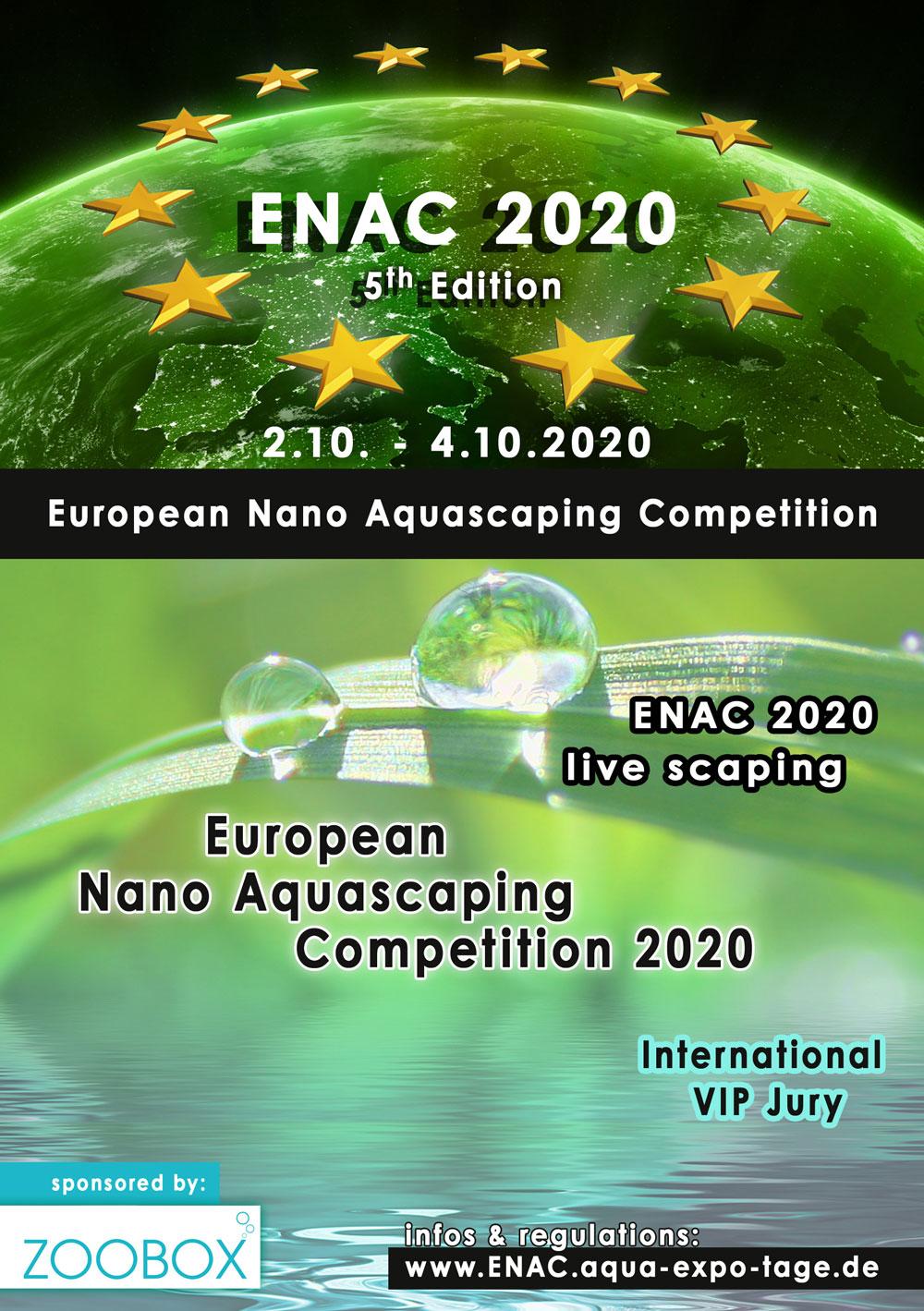 ENAC - European Nano Aquascaping Competition - 2020